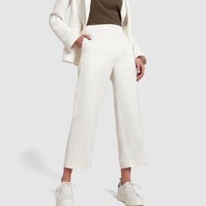 G. Label Goop Eileen Cropped Suit Pants Size 6